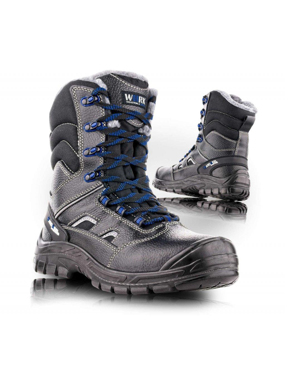 SHEFFIELD zimná holeňová obuv S3W