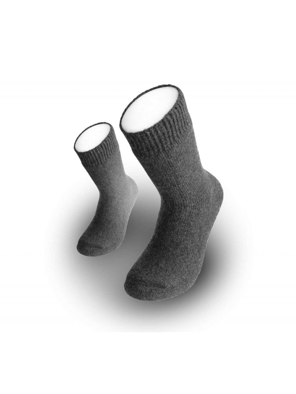 Zimné vlnené ponožky