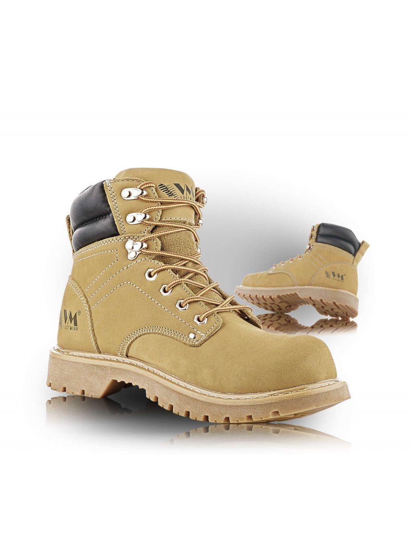 COLORADO O1 kožená členková obuv