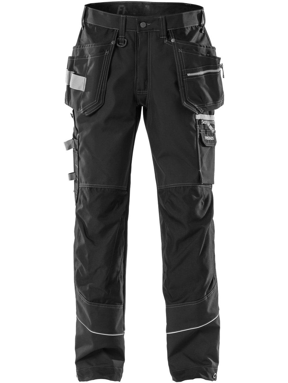 Remeselnícke nohavice FRISTADS 2122 čierne