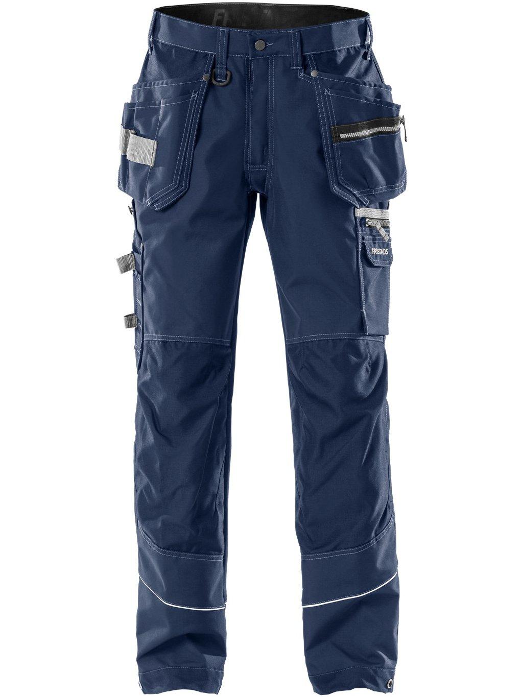 Remeselnícke nohavice FRISTADS 2122 modré