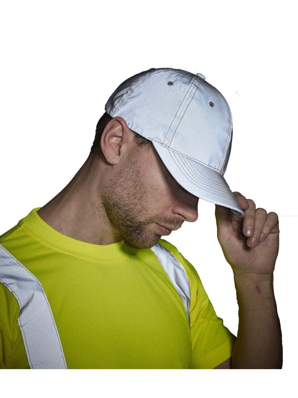 Bejzbalová reflexná čiapka