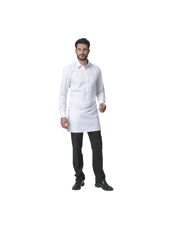 PALERMO GREMBIULE UNISEX bianco 0001 1
