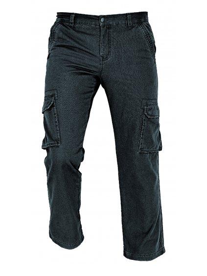 Nohavice zimné RAHAN čierne