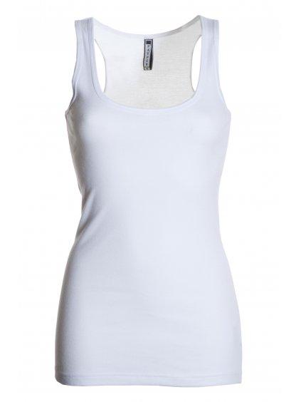Look dámske tričko - tielko biele