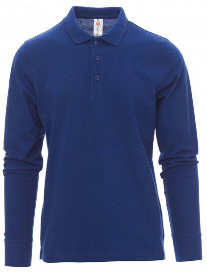 Polokošeľa s dlhým rukávom Verona modrá