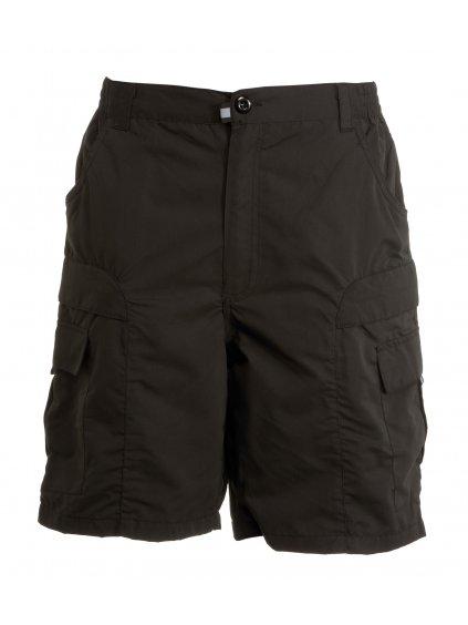 Short bermudy čierne