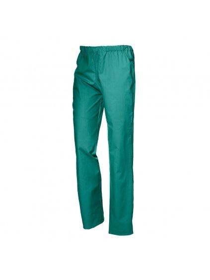 bavlnené zdravotnícke nohavice zelené