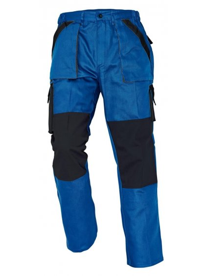 max nohavice modré