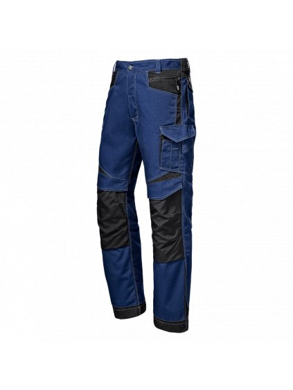 Industrial nohavice modré