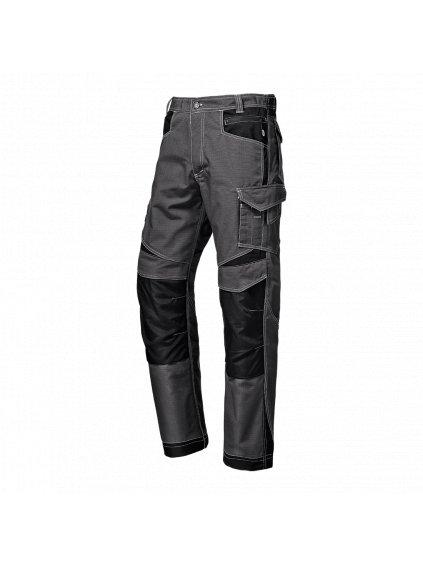 Industrial nohavice sivé