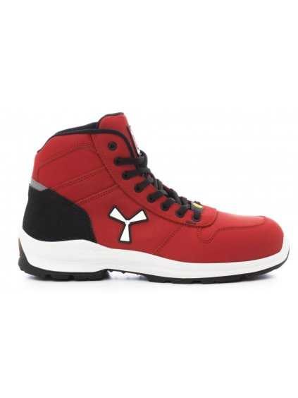Bezpecnostná obuv Payper červená