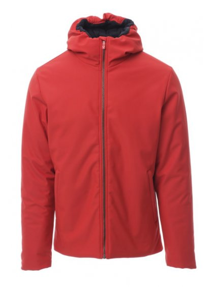 Oregon zimná softshellová pracovná bunda červená