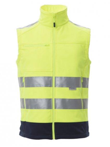 Reflexná zimná vesta TRAFFIC