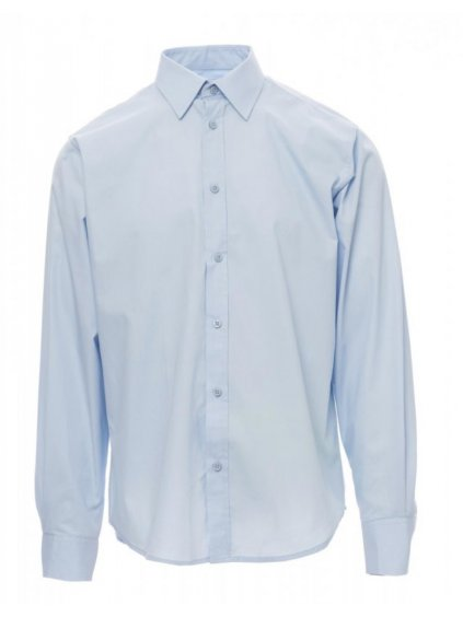 manager pracovná košeľa modrá