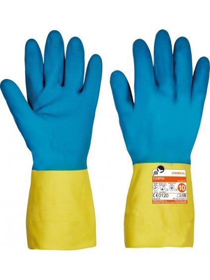 CASPIA chemicky odolné rukavice