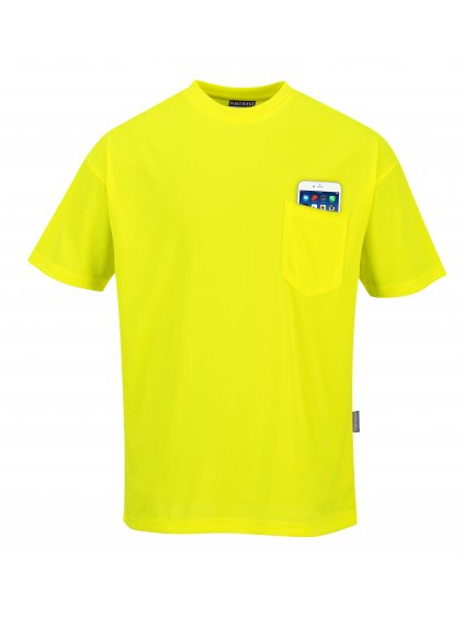 Tričko reflexné s vreckom