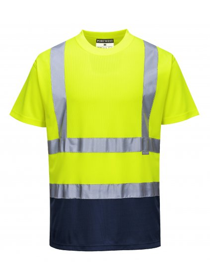 Tričko dvojfarebné S378