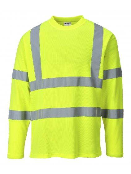Tričko reflexné S278 žlté