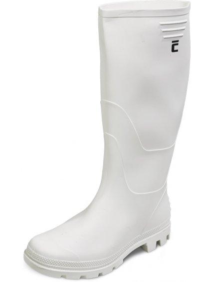 biele ginoch cizmy