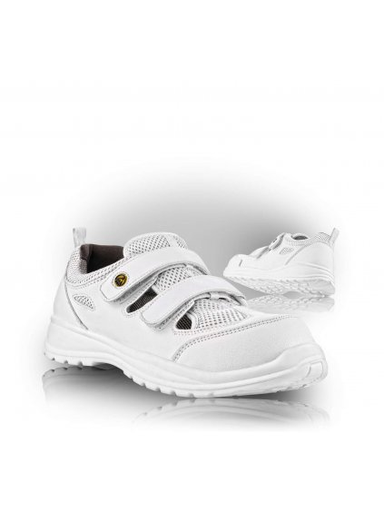 MONTREAL S1 ESD SRC biela bezpečnostná sandála