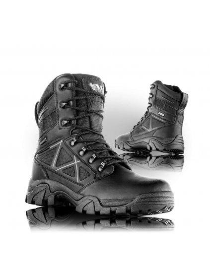 BLACKBURN O2 FO SRC poloholeňová taktická obuv s membránou