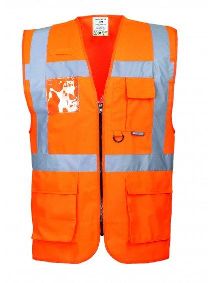 Vesta manažérska S476 oranžová