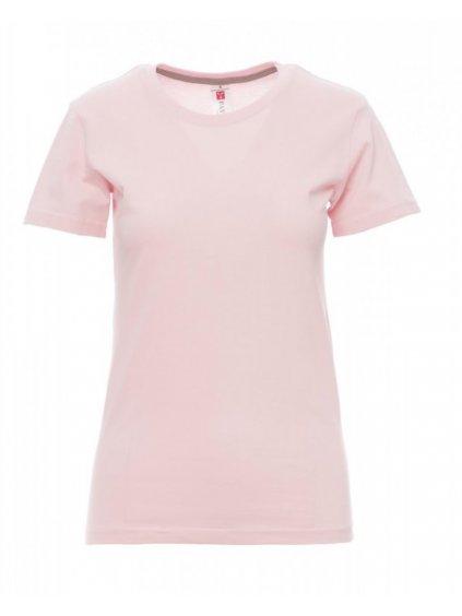 tričko SUNSET LADY baby pink