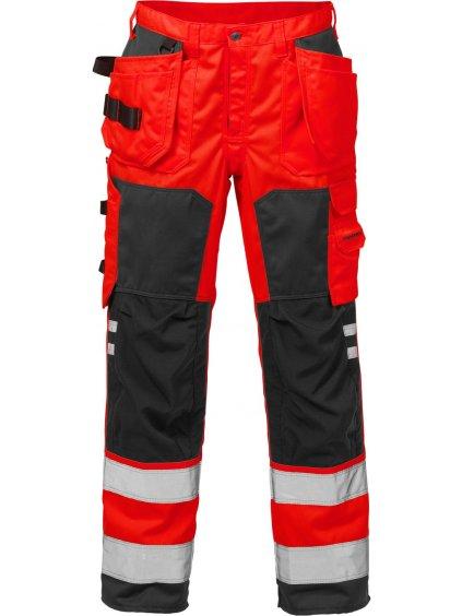 Výstražné záchranárske nohavce FRISTADS 2025 trieda 2