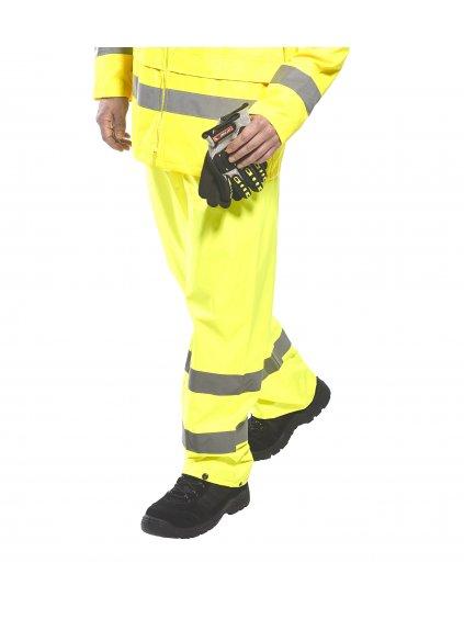 Nohavice reflexné H441 žlté