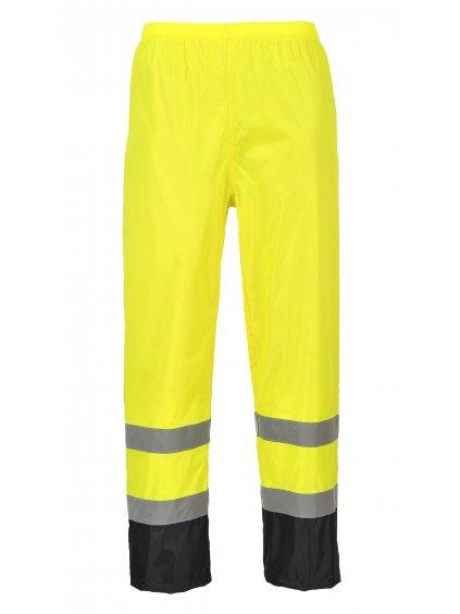 Nohavice reflexné H444 žlté
