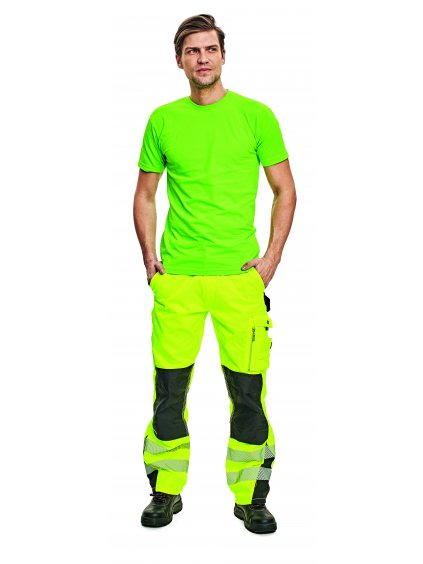 Tričko reflexné TEESTA zelené