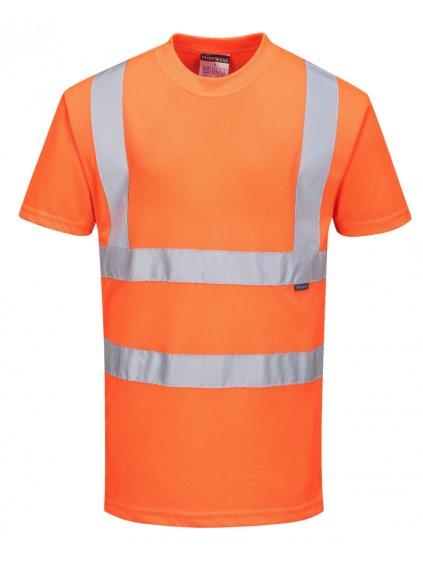 Tričko RT23 oranžové letné