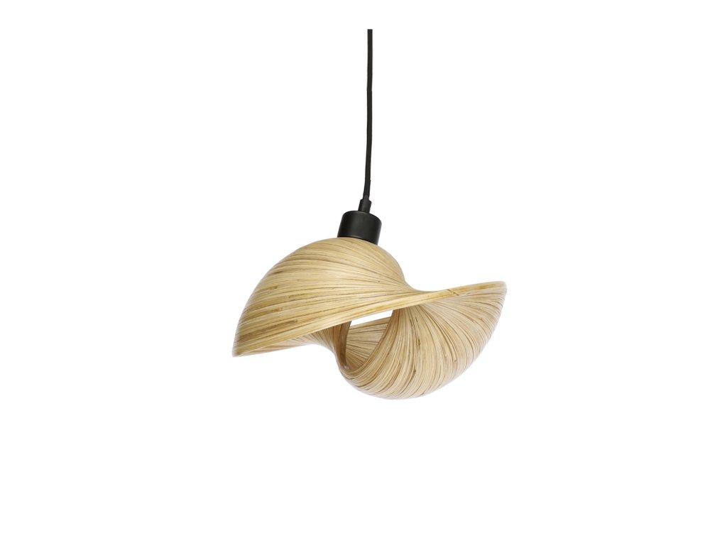 zavesne osvetleni bamboo 25cm