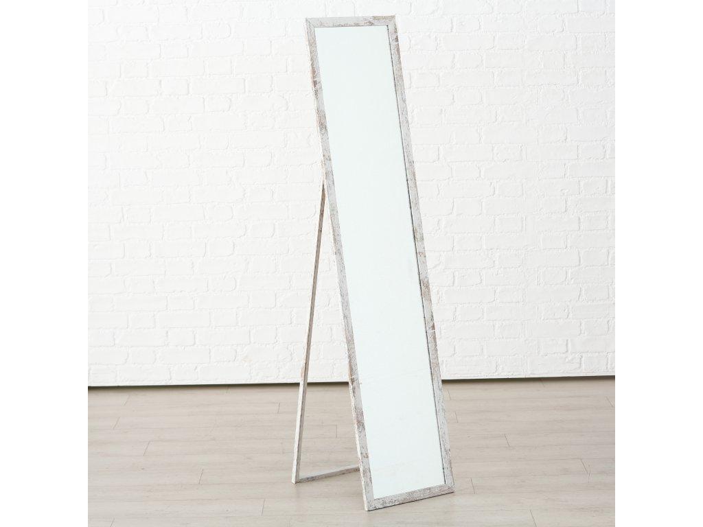 Samostojící zrcadlo s dřevěným rámem MAGNIFICIENT