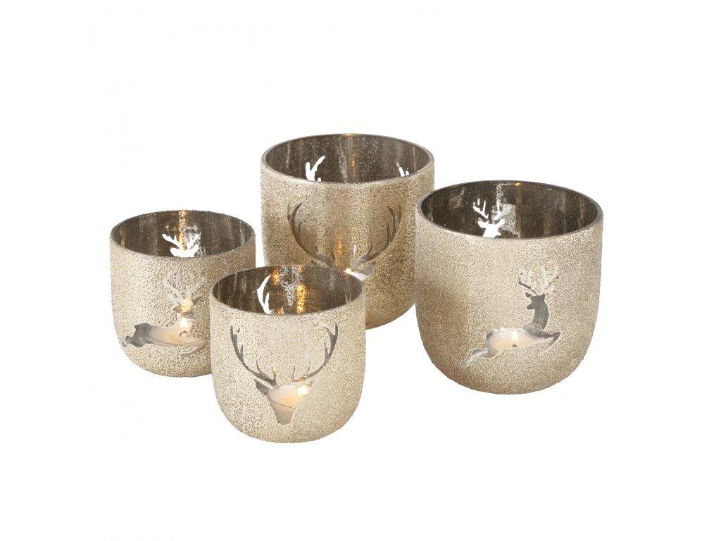 DEER Set dvou svícnů