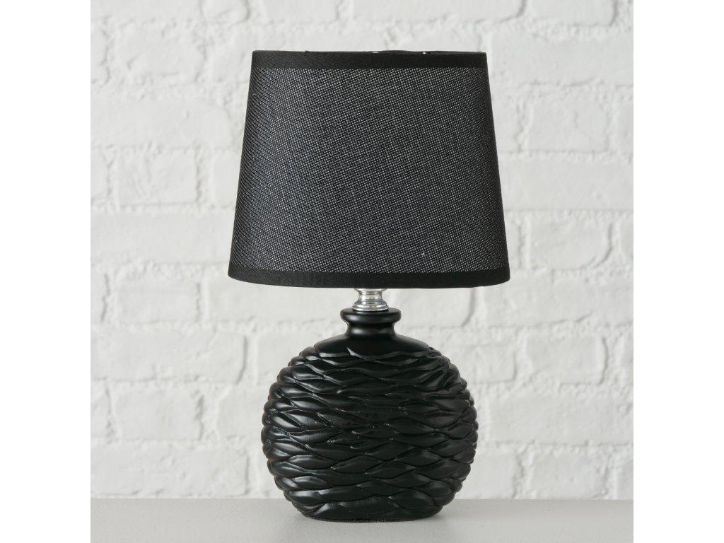 Stolní lampička NAMIO v černé barvě