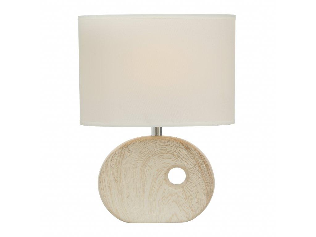 Stolní lampička OAKVILLE, světlá