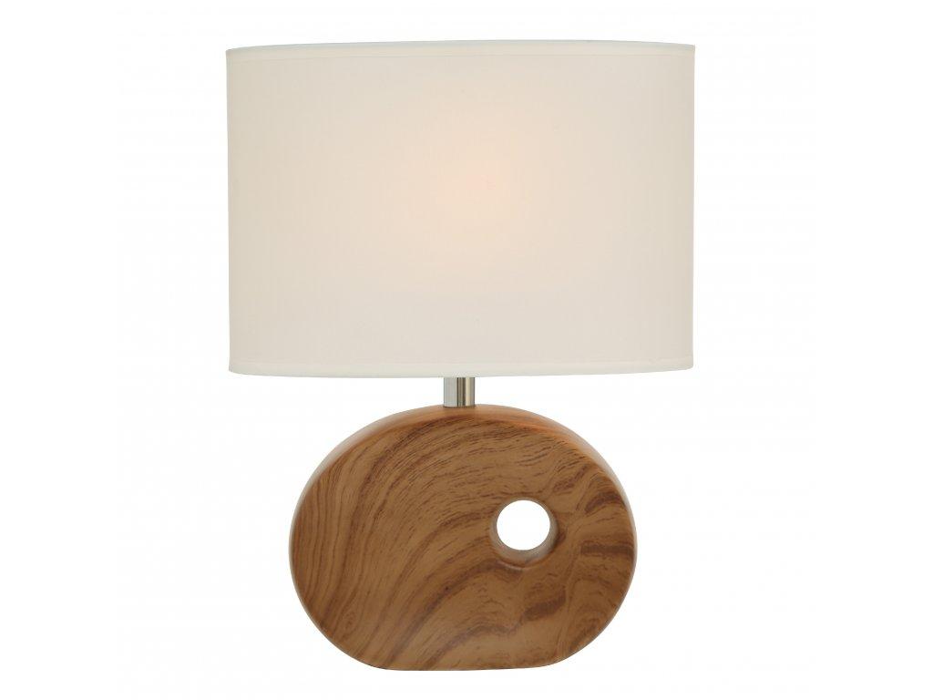 Stolní lampička OAKVILLE, tmavá