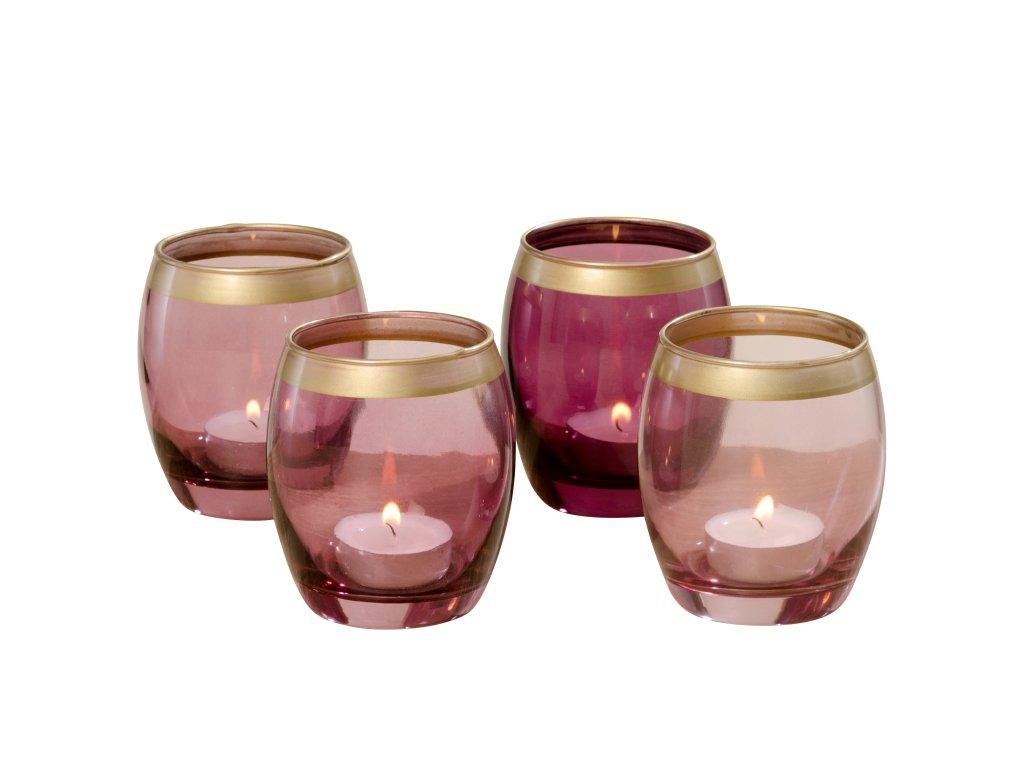 JOLINA Sada čtyř svícnů