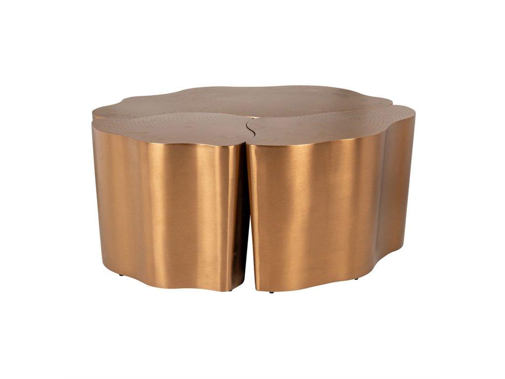TREE Konferenční zlatý stůl