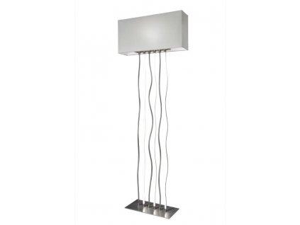 lampadaire led sompex viper nickel satine metal 88496 28036