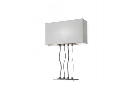 lampe led sompex viper nickel satine metal 88495 28039