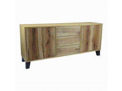 BD Masivní komoda z dubového dřeva