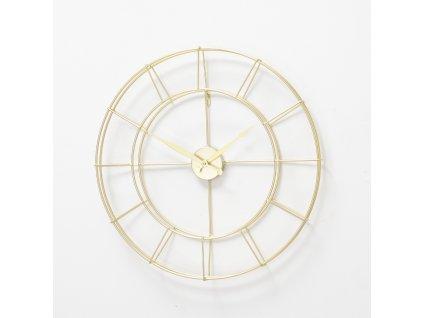 ALISHA Kovové hodiny zlaté