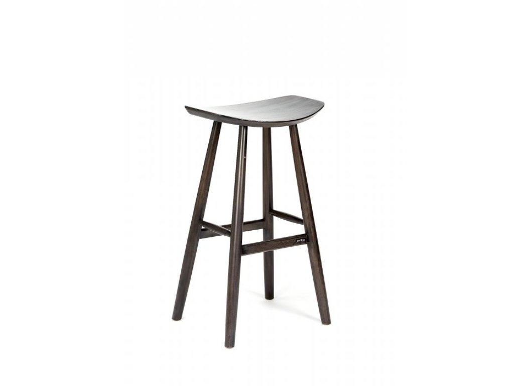KYOTO DARK GREY barová stolička