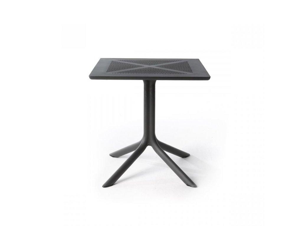 Plastový stôl CLIP 70x70 cm