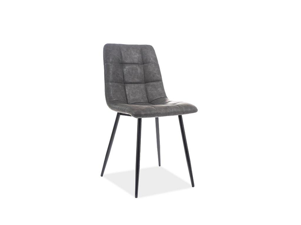NINO GREY jedálenská stolička