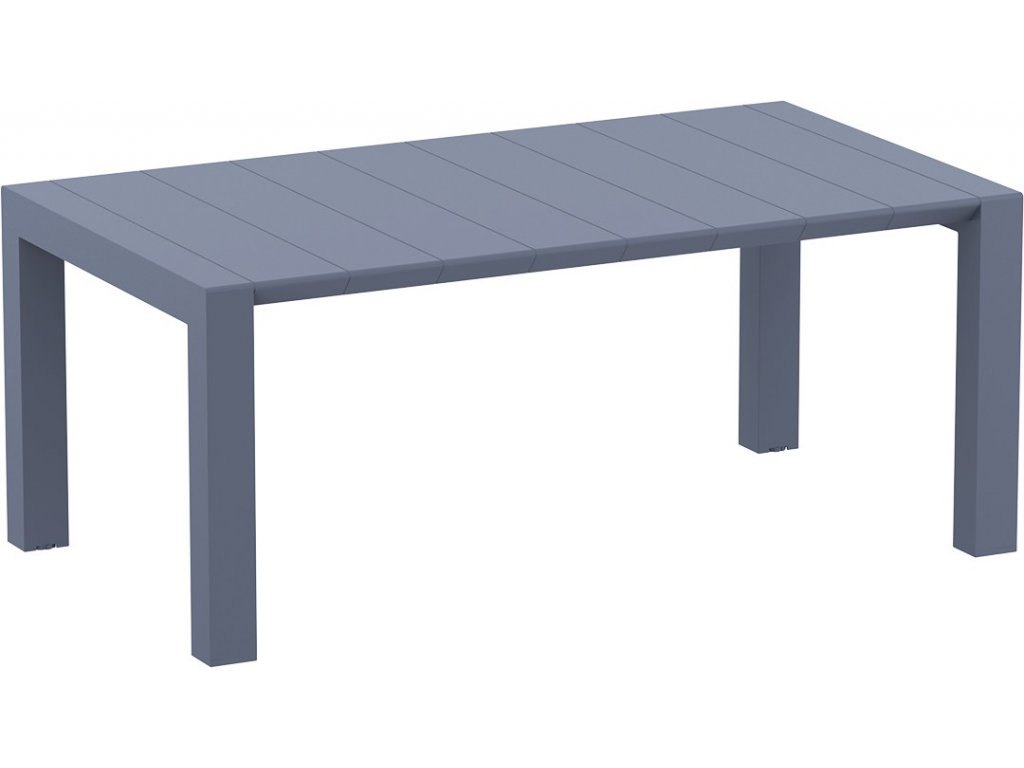 Rozkladací stôl VEGAS, 100 x 180/220 cm