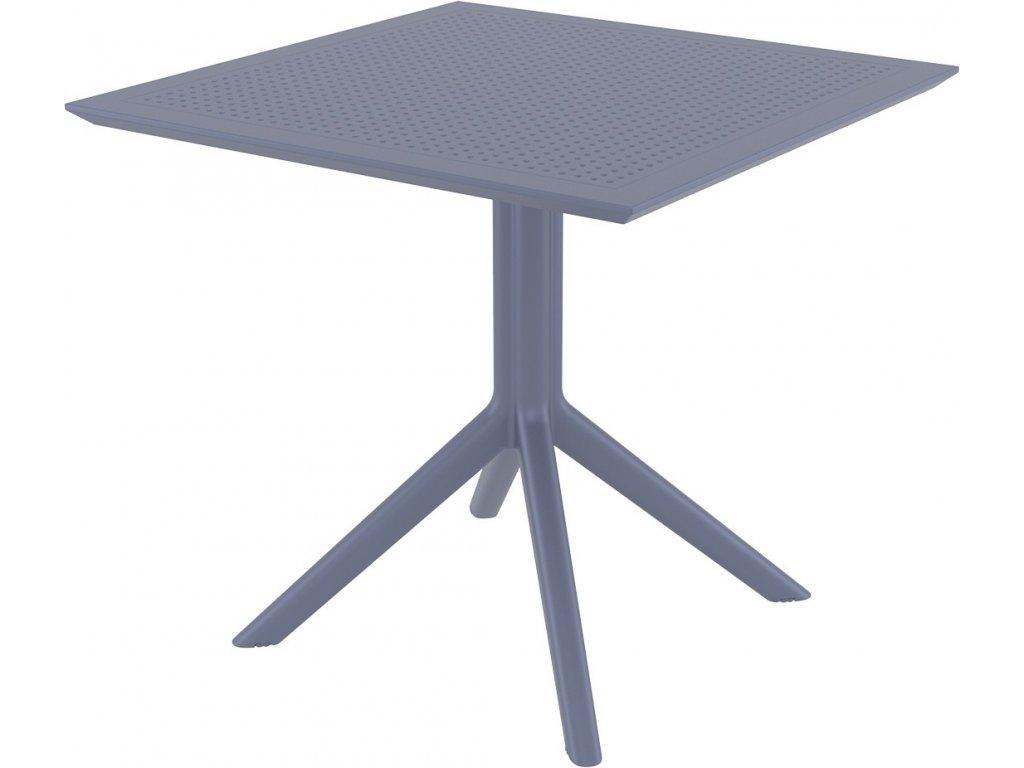 Exteriérový stôl SKY, 80 x 80 cm